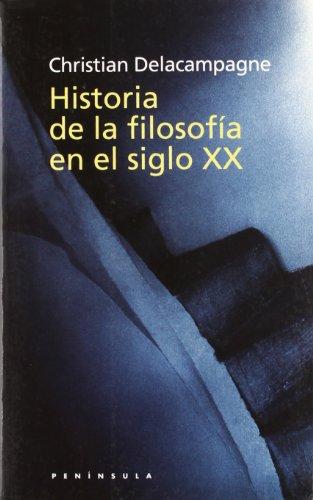 9788483072080: Historia de la filosofia del siglo XX (HISTORIA, CIENCIA Y SOCIEDAD)