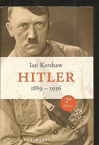 9788483072301: Hitler. 1889-1936