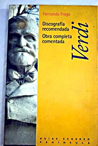 9788483072738: Verdi - Discografia Recomendada Obra Completa