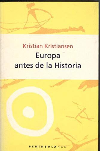 9788483073674: Europa antes de la Historia