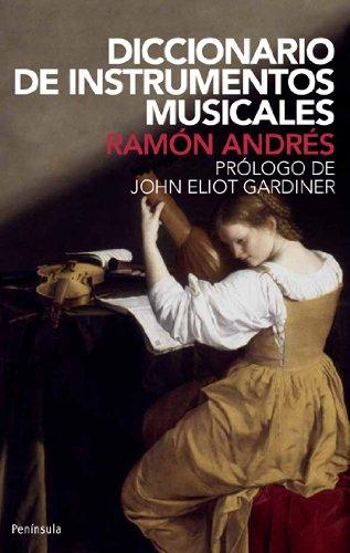 9788483073940: Diccionario de instrumentos musicales