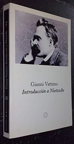 9788483074169: Introducción a Nietzsche (EDICIONES DE BOLSILLO)