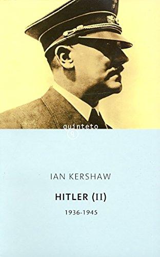 Hitler II (Spanish Edition) (8483074524) by Ian Kershaw