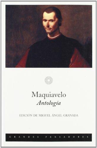 9788483075210: Maquiavelo.: Antología (EDICIONES DE BOLSILLO)