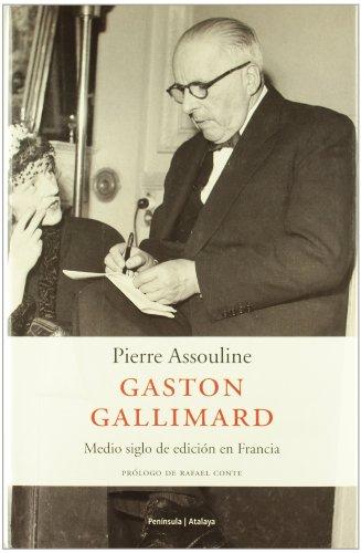 9788483075449: Gaston Gallimard (Spanish Edition)