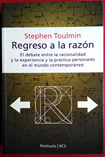 Regreso a la Razon (Spanish Edition) (8483075733) by Stephen Toulmin