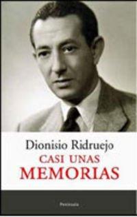 9788483077955: Casi Unas Memorias (Spanish Edition)