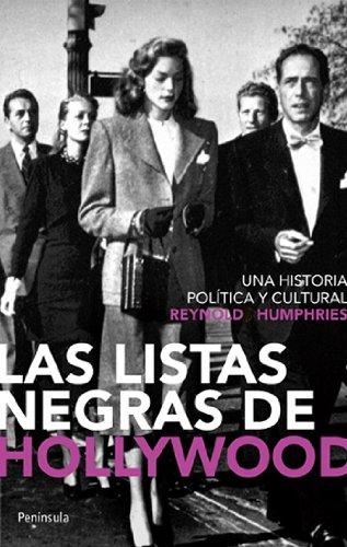 9788483078709: Las listas negras de Hollywood: Una historia cultural y pol�tica