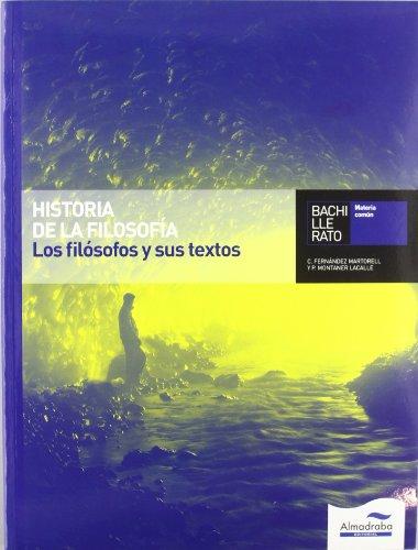 9788483083734: Historia de la Filosofía. Los filósofos y sus textos (L+CD)