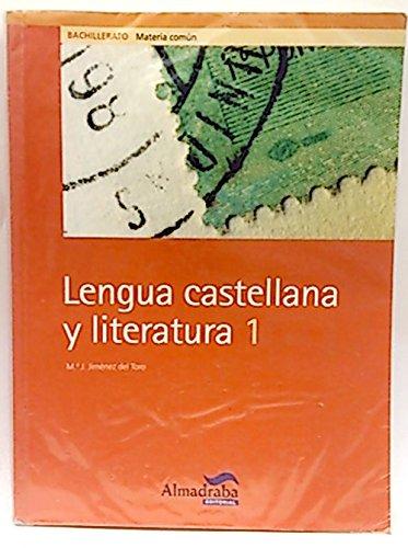9788483084014: Lengua castellana y literatura, 1 Bachillerato