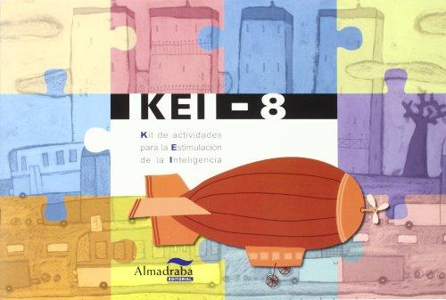 9788483084342: CP KEI Kit de actividades para la estimulación de la inteligencia 8