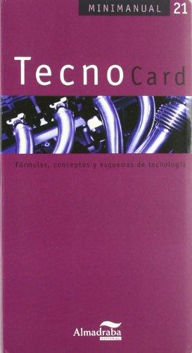 9788483085837: TecnoCard: Fórmulas, conceptos y esquemas de tecnología (Minimanual)