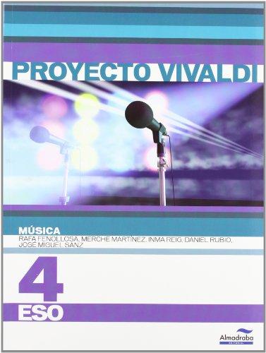 9788483086360: Música 4º ESO (Proyecto Vivaldi)