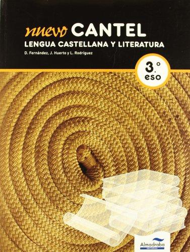 9788483086827: NUEVO CANTEL. Lengua Castellana y Literatura. 3ºESO