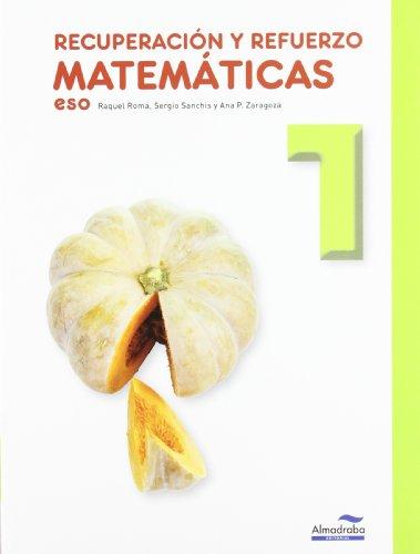 9788483087299: Recuperación y Refuerzo de Matemáticas 1º ESO
