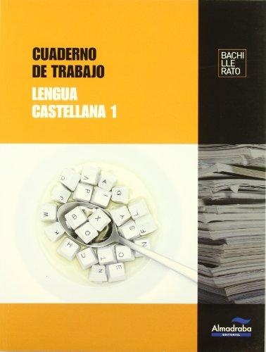 9788483088210: Cuaderno de trabajo Lengua castellana 1 (Cuadernos de Bachillerato) - 9788483088210