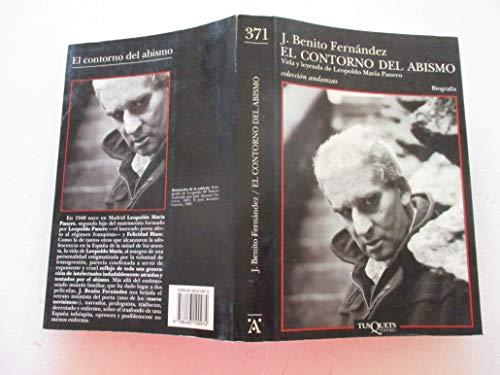 9788483100974: El Contorno Del Abismo (Andanzas) (Spanish Edition)