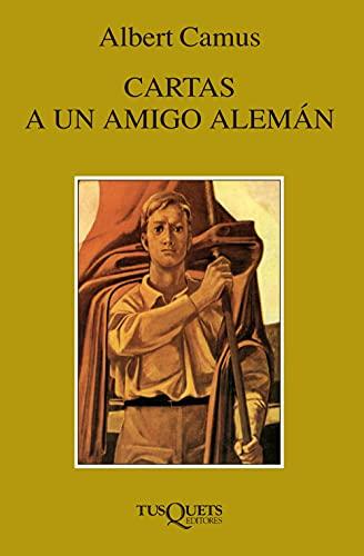 9788483104637: CARTAS A UN AMIGO ALEMAN (Fabula (Tusquets Editores)) (Spanish Edition)