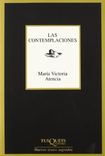 9788483105283: Las Contemplaciones (Marginales) (Spanish Edition)