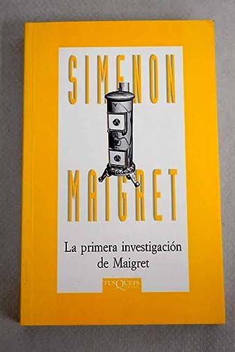 9788483105764: Mi Amigo Maigret (Spanish Edition)