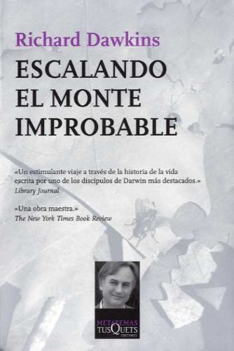 9788483105832: Escalando el monte Improbable (Metatemas)