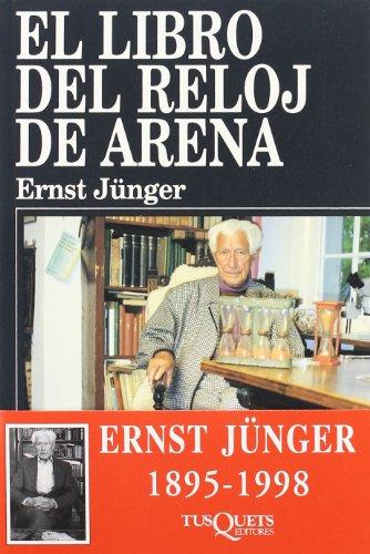 9788483105870: El libro del reloj de arena (Ensayo (tusquets))