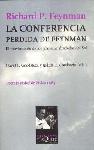 9788483106198: La conferencia perdida de Feynman (Metatemas)