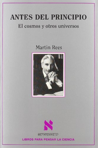 9788483106242: Antes Del Principio (Spanish Edition)