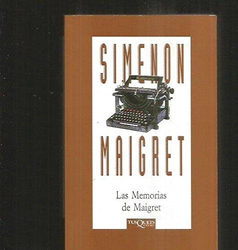 Las Memorias De Maigret (Spanish Edition) (9788483106600) by Simenon, Georges