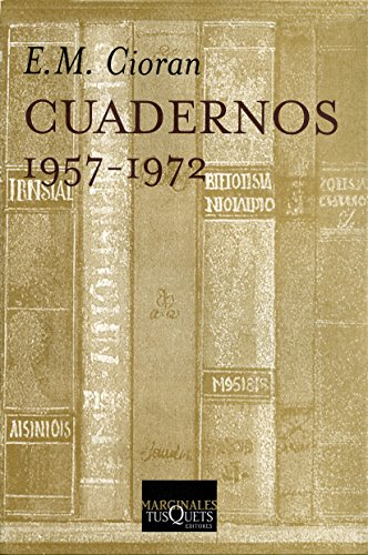 9788483106709: Cuadernos (1957-1972) (Marginales)