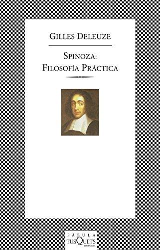9788483107515: Spinoza: filosofía práctica (FÁBULA)