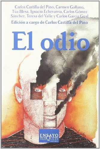 9788483107928: El odio (Ensayo)