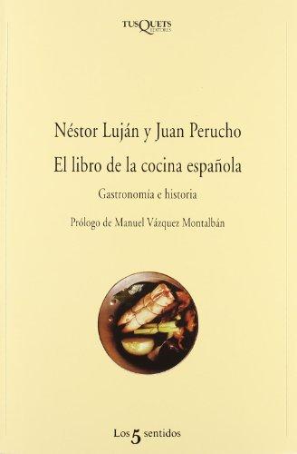 9788483108772: El libro de la cocina espanola (Los 5 Sentidos) (Spanish Edition)
