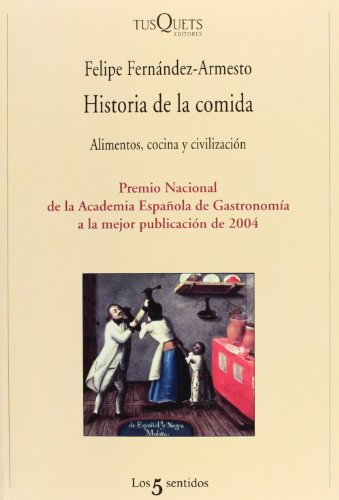 9788483109380: Historia de La Comida (Spanish Edition)
