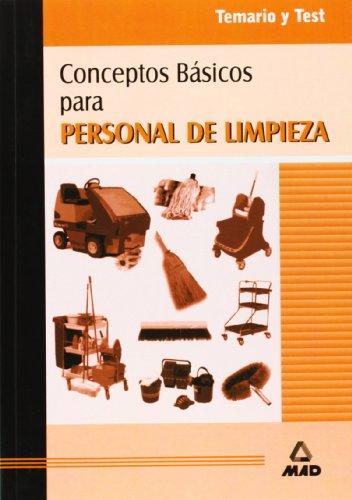9788483113868: Conceptos Básicos para Personal de Limpieza. Temario y Test.