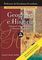 9788483116036: Geografia e historia I- temario oposiciones profesores secundaria -