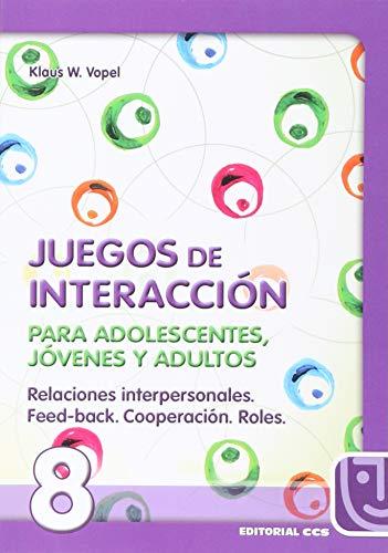 9788483160039: Juegos De Interacción/8-5ª Edic (Animación de grupos)