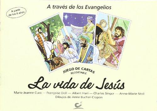 LA VIDA DE JESUS. JUEGO DE CARTAS: CURA, MARIE-JEANNE