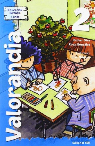 9788483165287: Valorandia 2: Educación Infantil - 4 años
