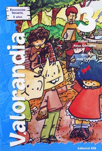 9788483165294: Valorandia 3: Educación Infantil - 5 años