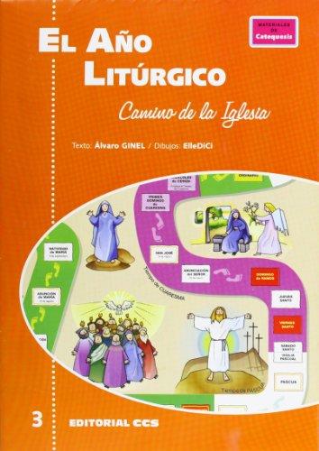 9788483165898: El año litúrgico: Camino de la Iglesia (Pósters catequistas)
