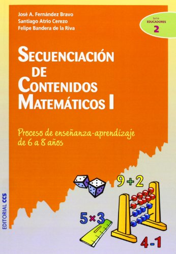 9788483166079: Secuenciación de contenidos matemáticos I: Proceso de enseñanza-aprendizaje de 6 a 8 años (Ciudad de las Ciencias)