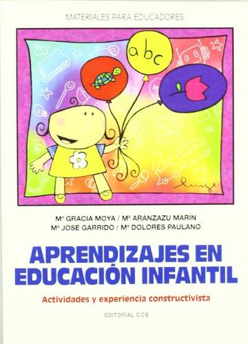 9788483167298: Aprendizajes en educación infantil
