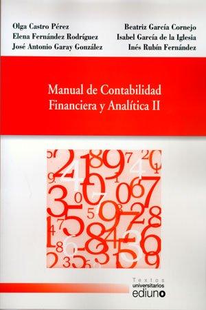 9788483178010: Manual de Contabilidad Financiera y Analítica II (Textos Universitarios)