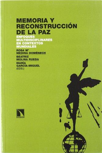 9788483193501: Memoria Y Reconstruccion De La Pa (INVESTIGACION Y DEBATE)