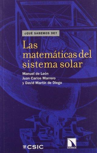 9788483194294: Las Matematicas del Sistema Solar