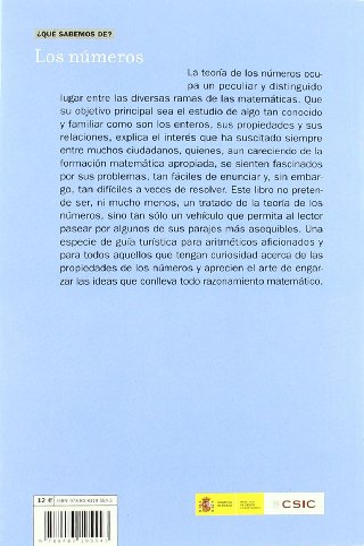 9788483195543: Los Numeros