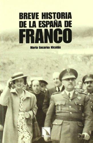 9788483195673: Breve historia de la España de Franco