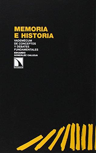 9788483197943: Memoria e historia: Vademécum de conceptos y debates fundamentales (Investigación y Debate)