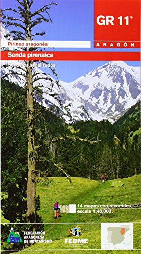 9788483210710: Gr-11 - senda pirenaica - tramo aragones (libro+mapa) (Senderos De Gran Recorrido)